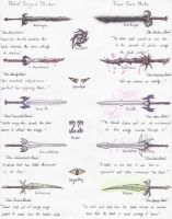 Darkness Sub-Category Weapons by Ai1ment