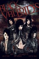 My New Black Veil Brides Poster by alphabeta105