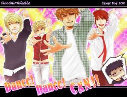 Dance Dance CxN by Clover-Doe