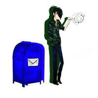 Marcus and Mailbox~WhenYouReachMe by mogo-dot