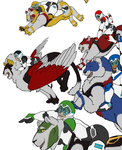 Voltron - WIP2 by Invader-Sah