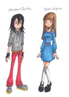 Young OC's: Izumi and Shadow by 4Wendy