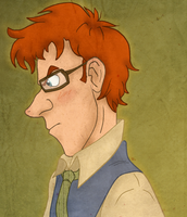 Percy Weasley by Weasley-Detectives