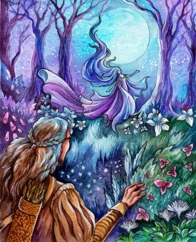 Luthien's Dance by TrollGirl