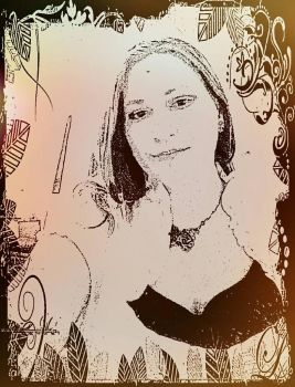 Selfie...edited with Pixlr and photo studio... by ConnellyC113