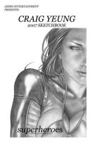 Sketchbook 2007 cover by Csyeung