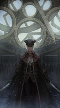 Lady Maria by yagaminoue