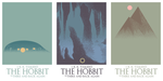 three the hobbit posters/book covers by emir0