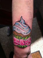Cupcake by state-of-art-tattoo