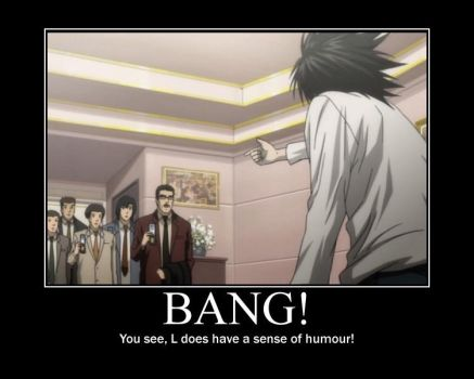 Bang!- Death Note by Clive4everLegal