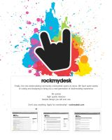 rockmydesk.com - register now by EgoQuitStudio