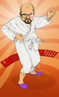 Me the kung-fu god by Skylow