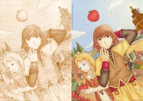 Radiata Stories +color by LauraSan