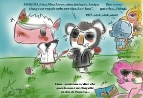 Corrado x Irina Animal Crossdrawing komplete by KingFlurry