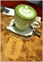 Hot Green Tea Latte by edwin1303