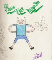 Finn The human by cali-cat