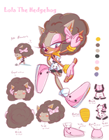 Lola reference sheet by eokoi