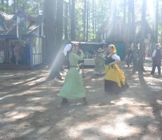 King Richard's Fair, Battling Peasent Women by Miss-Tbones