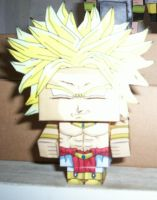 BROLY CUBEECRAFT by tenchaos