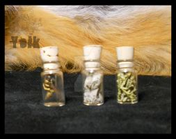 Talisman Jars - Insects and Herbs (For Sale) by Shamans-Yoik