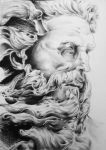Zeus Statue by goodsnake