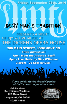 Deny Man's Tradition at The Dickens Opera House by Valdyr