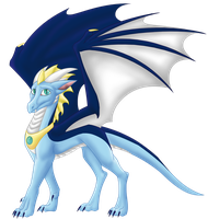Kari (Spirit)- Dragon Form by Spirit--Productions