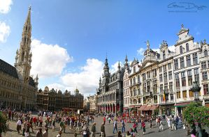 Grand Place Grote Markt by gdphotography