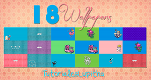 18 Wallpapers :D by tutorialeslupitha