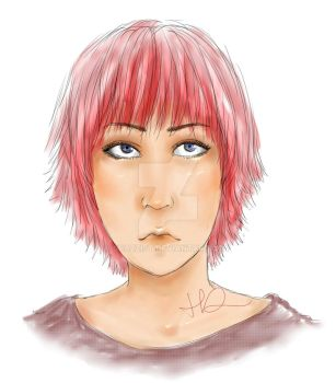 pink head by spazzist