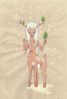 deery faun by gastrovascular