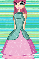 Tecna's Stix-Ball Dress by WinxStellaFan