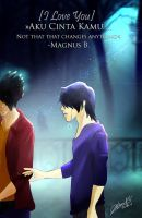 Magnus and Alec - Malec by MsCassyK