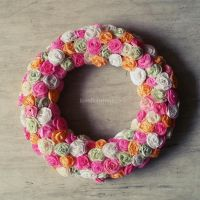 Wreath of roses by RevelloDrive1630