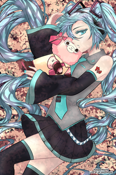 Entry for Hatsune Miku Madness Contest by chocoreo-1
