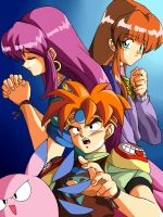 Terranigma Light and Darkness by taira-paco