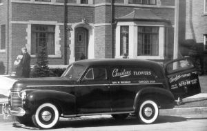 Believe a 1941 Chevrolet Panel Delivery by cotmj