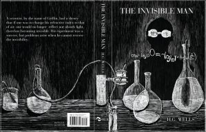 The Invisible Man book cover by Vanessa-J-Thompson