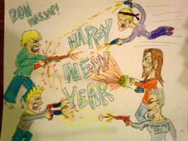 NERF WAR NEW YEARS by Lux1311