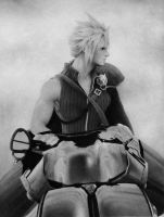 VII Cloud Strife VII by MADMANHales
