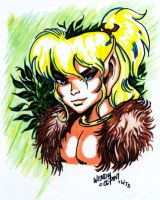 cutter elfquest by wendypini by KwongBee-Arts
