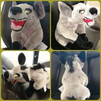 ( The Lion King ) Disney Store Banzai Plush by KrazyKari