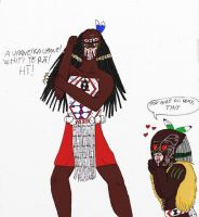 Jasmo Predator of the month challenge 3 Maori by IllyDragonfly