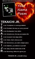 My Name Poem by FCUniverse