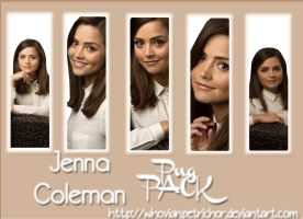 Jenna Coleman Png Pack by WhovianPetrichor