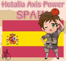 Hetalia Axis Power Spain by leadervance