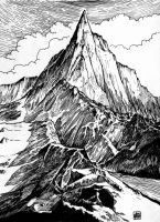 Mountain (Khazad Dum) by Orm-Z-Gor