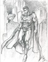 Superman Sketch by phil-cho