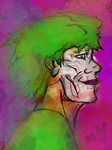 Joker's Abstract Madness by Poorartman