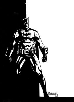 BATMAN DAILY SKETCH by future-parker